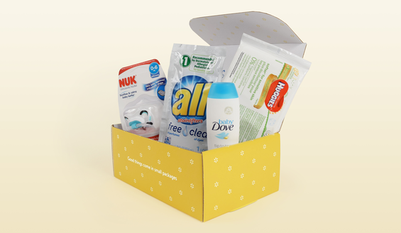 FREE Welcome Baby Box