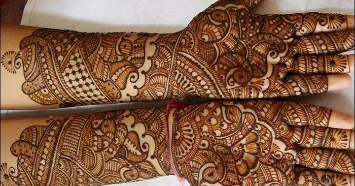 Bridal Mehndi Full Hand Designs : Full hand mehndi design perfect designs for bridal