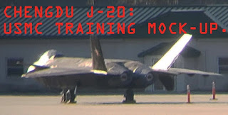 Mock up J-20 China