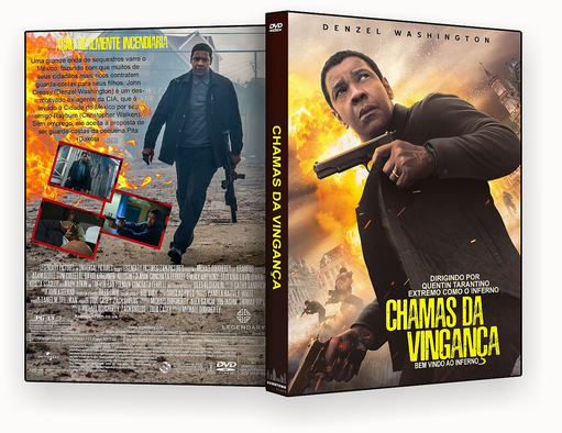 Chamas da Vingança Dublado – ISO – CAPA DVD