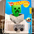 Minecart : Hot Wheels Edisi Mine Craft