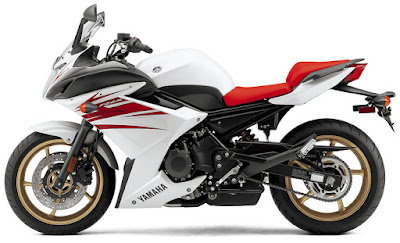 Upcoming Yamaha FZ6R white & red image