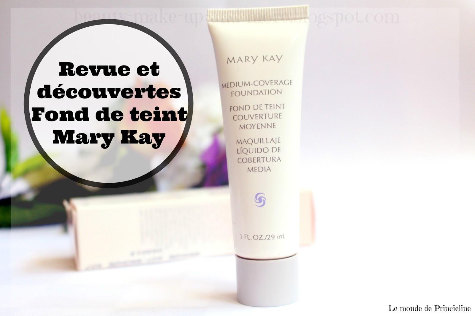 revue du Fond de teint Mary Kay couvrance moyenne