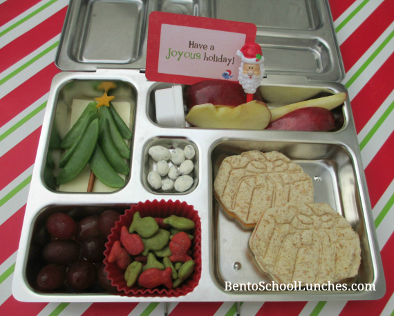 Christmas Tree, Presents, Bento School Lunches