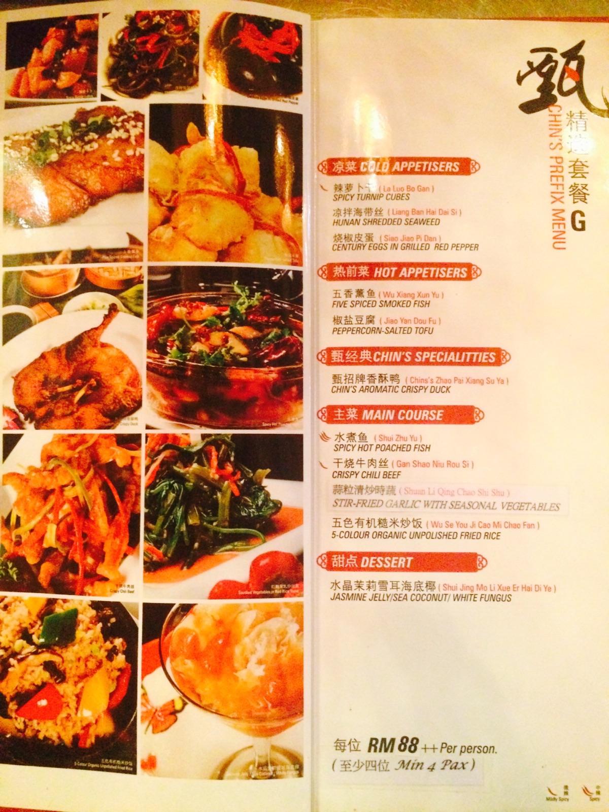 Stylish chins chinese cuisine price