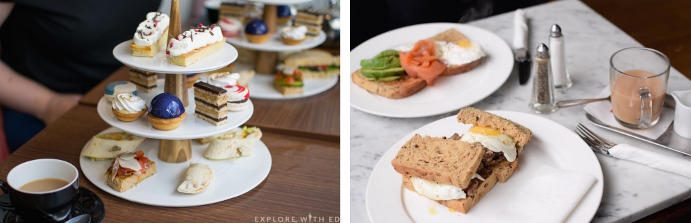 Afternoon Tea and Breakfast Dishes