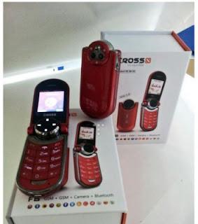 Cross F8 Harga dan Spesifikasi, Ponsel Mini Dual SIM