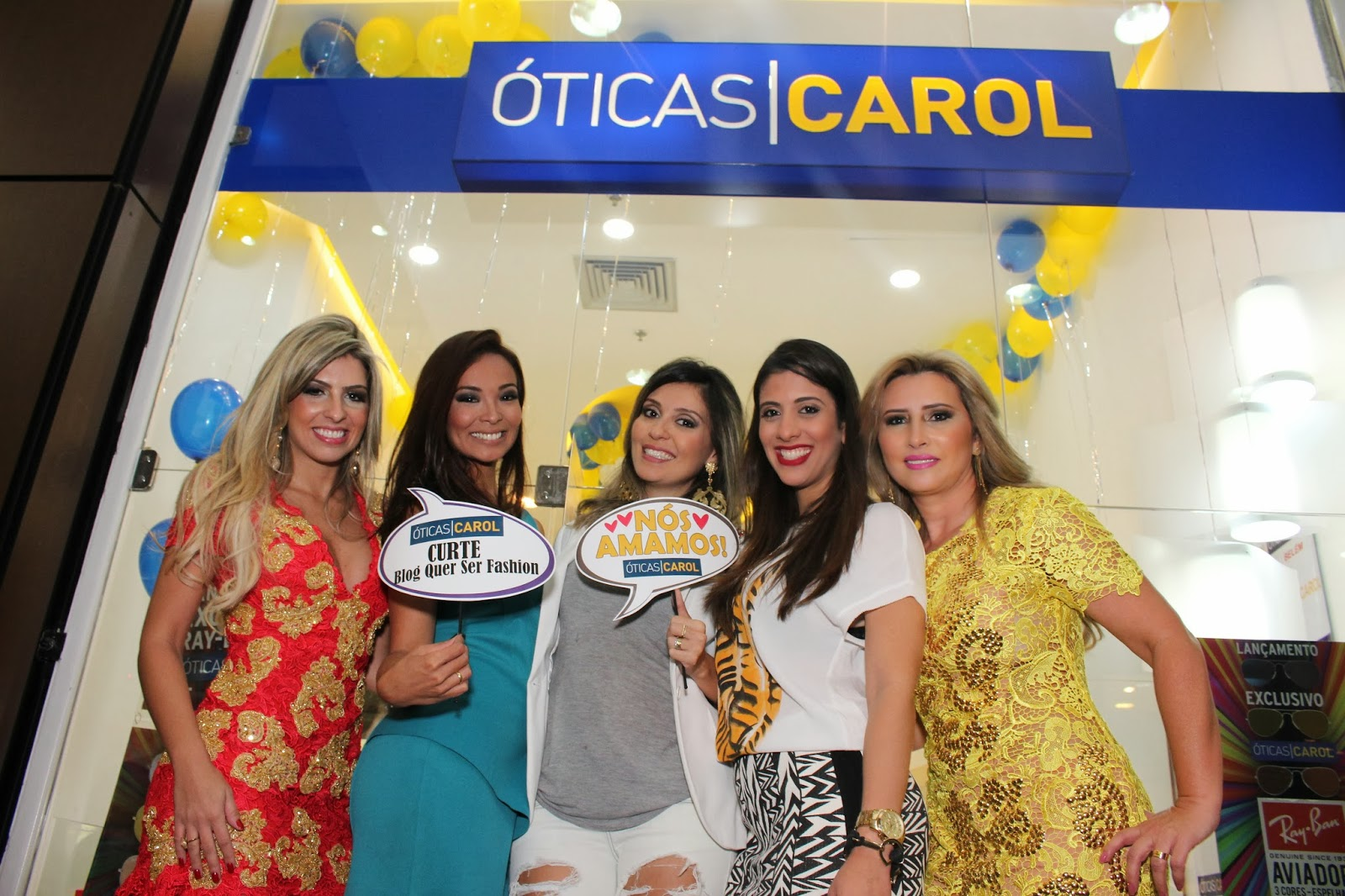 ea281437293f7 Quer ser fashion!  Inauguração Óticas Carol Pátio Belém