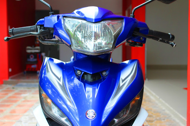 Sơn xe Exciter 2011 xanh GP cực đẹp