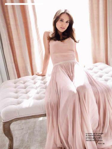 Natalie Portman vestido rosa