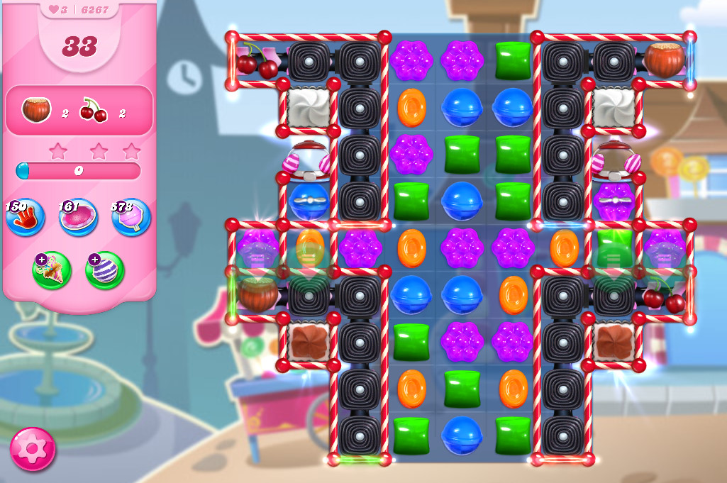 Candy Crush Saga level 6267