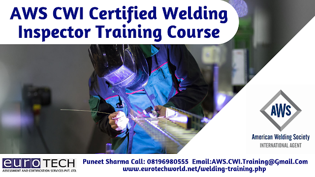 AWS CWI Certified Welding Inspector Training Course in Cochin