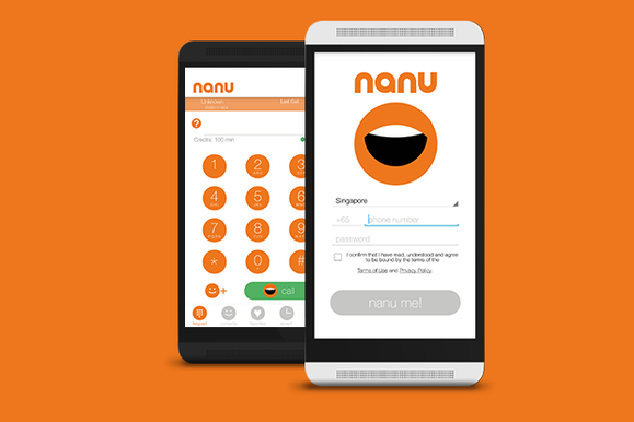 Make Free Calls And Text Messages With Nanu On Andriod Device