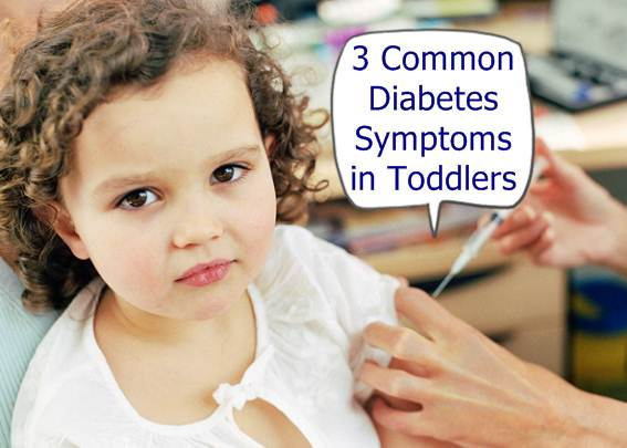 diabetes in toddlers warning signs