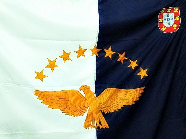 A Bandeira da Ilha de Açores
