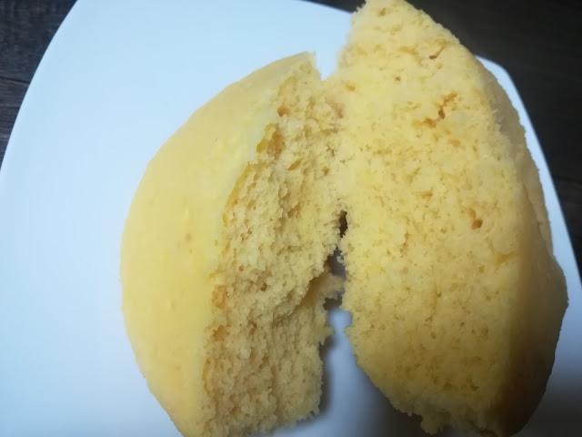 レンジで作る蒸しパン