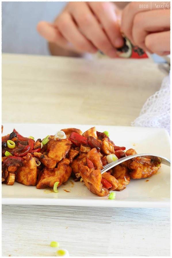 receta de kung pao chicken- kung pao chicken casero- receta de kung pao chicken en casa-receta china kung pao chicken- receta china kung po chicken