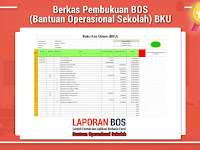 Berkas Pembukuan BOS (Bantuan Operasional Sekolah) BKU