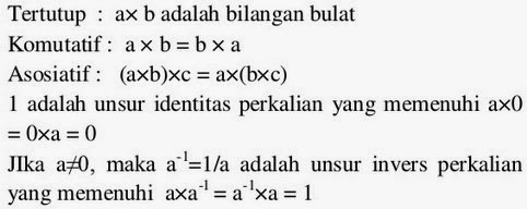 Rumus matematika SMP mengenai bilangan