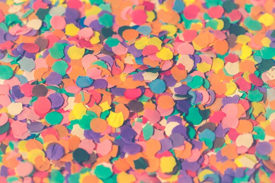 zabawnie, kolorowo, pięknie