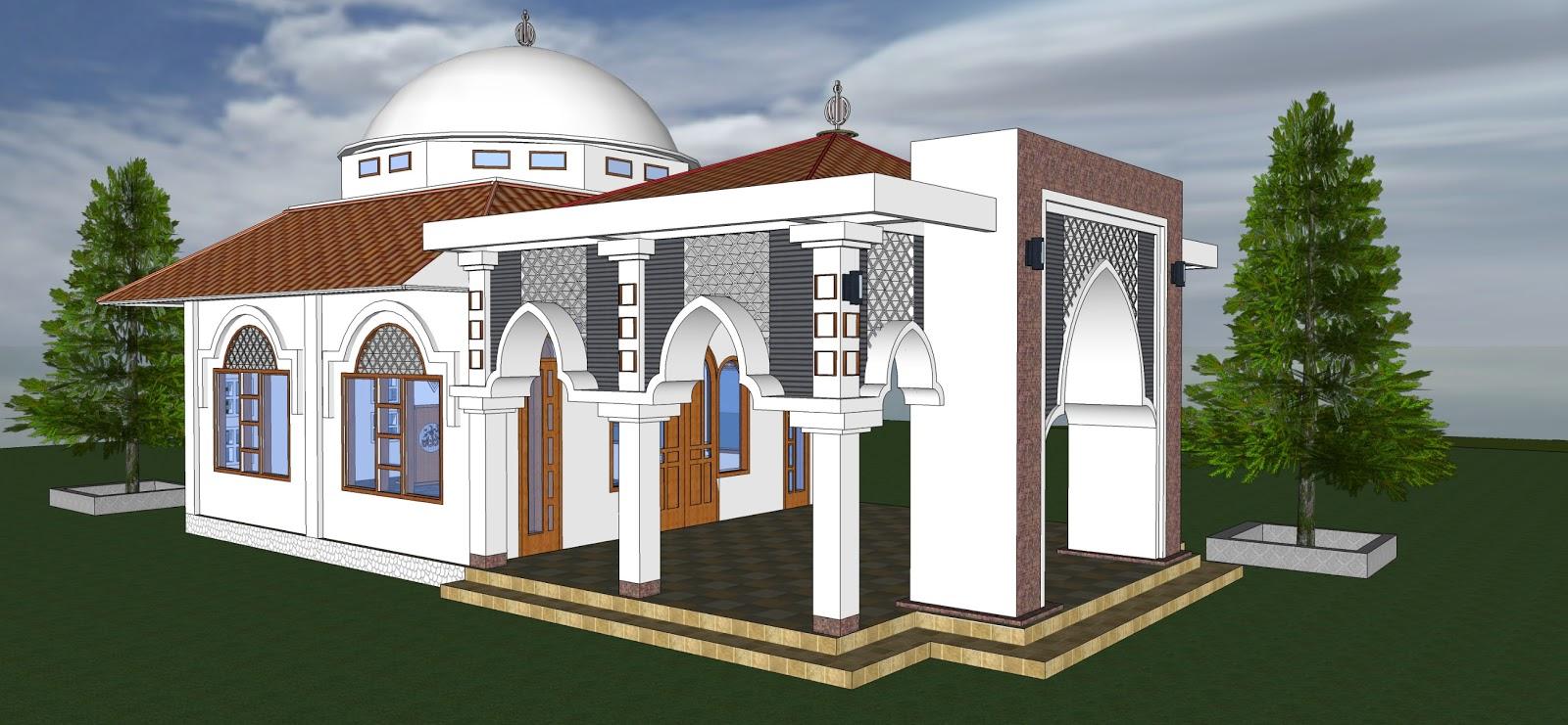 60 Desain Masjid Minimalis Modern Sesuai Dengan Syariat Islam