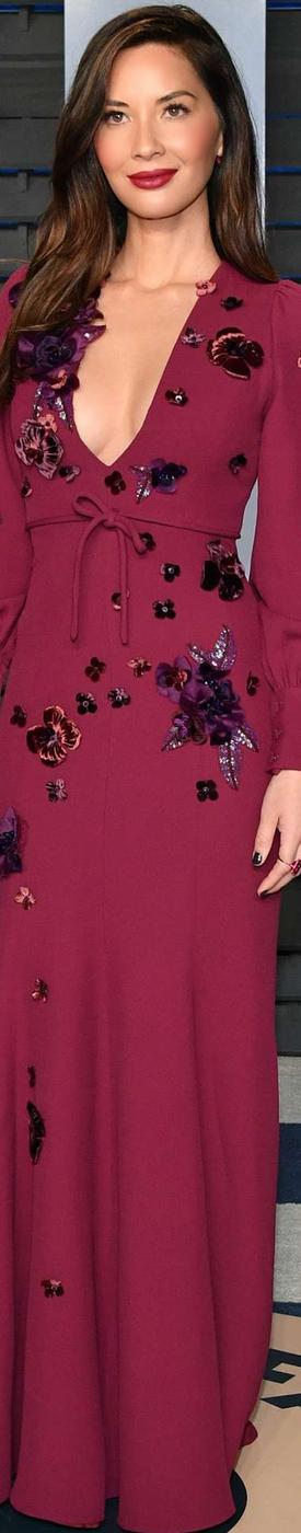 Olivia Munn 2018 Vanity Fair Oscar Party