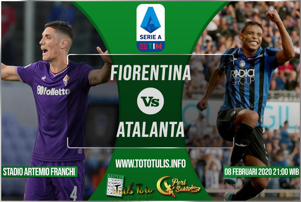 Prediksi Fiorentina vs Atalanta 08 Februari 2020