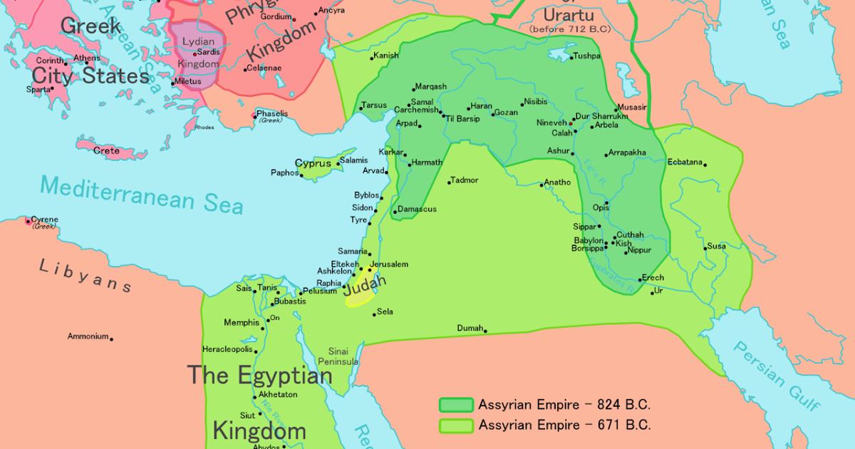 Maps  |Babylonian Empire Phoenicia
