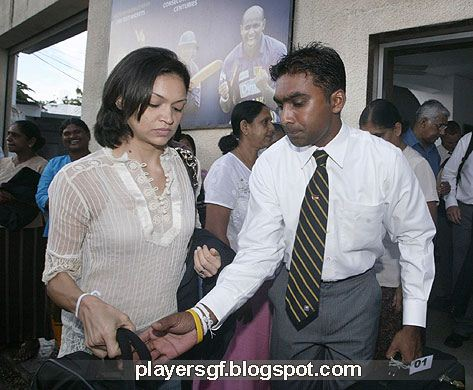 Mahela With Wife