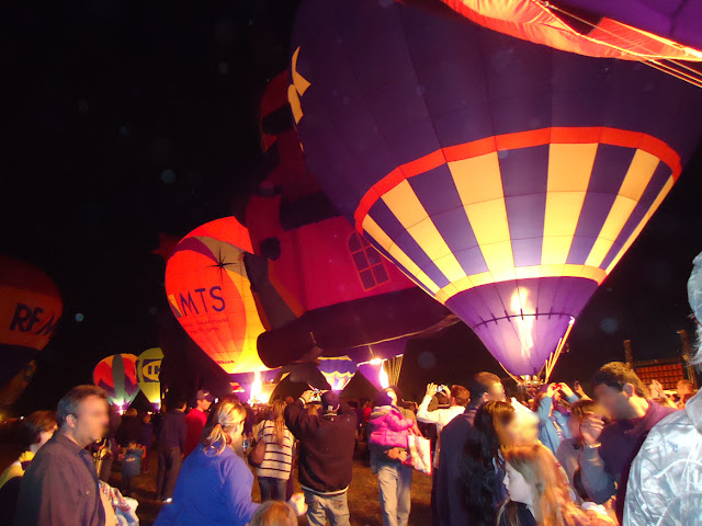 Hot Air Balloons Trick or Treating