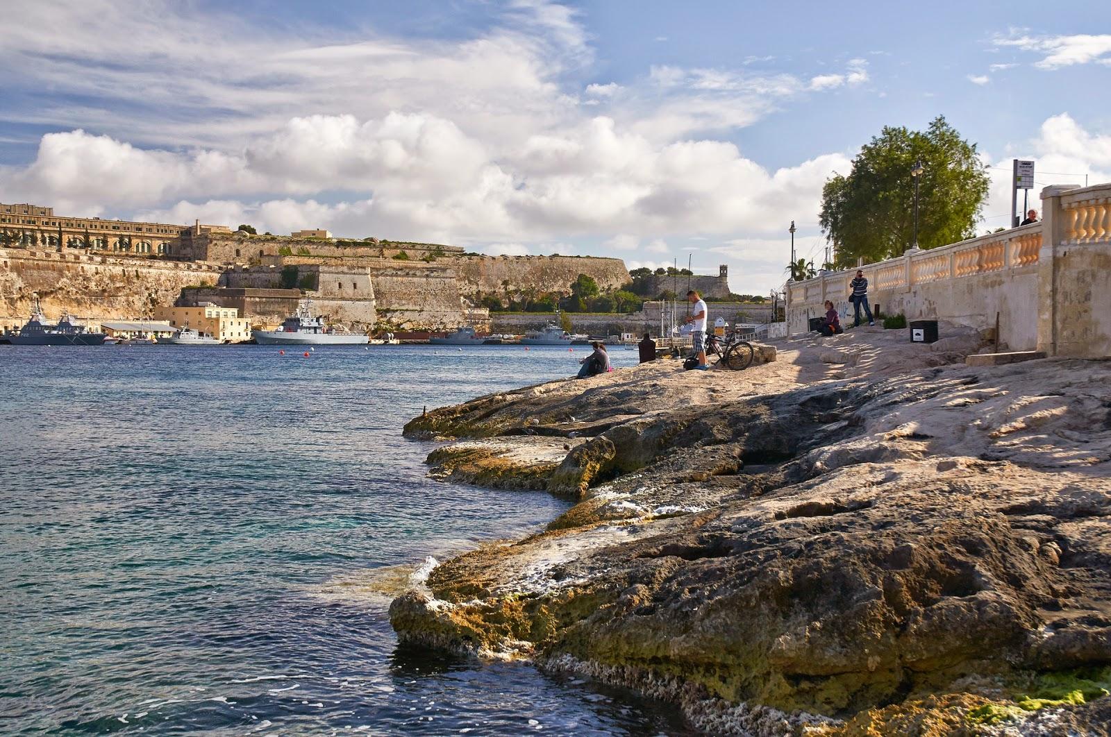 nabrzeże na Malcie jak wyglądają okolice portu