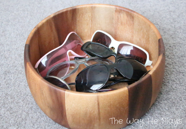 Sunglasses Treasure Basket