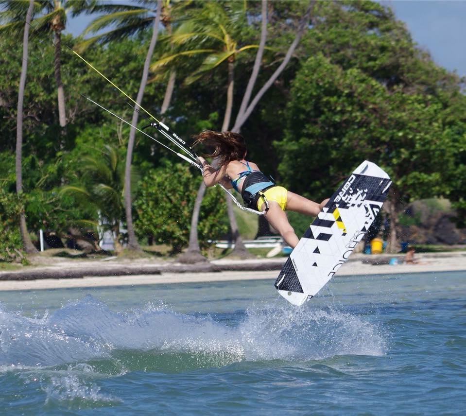 kitesurf kite kitegirls marie charlotte rolando cores coreskite
