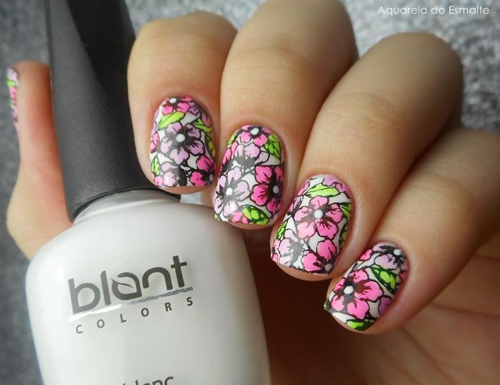 Esmaltes Top Tints da Blant Colors + Placa Sugar Bubbles 034