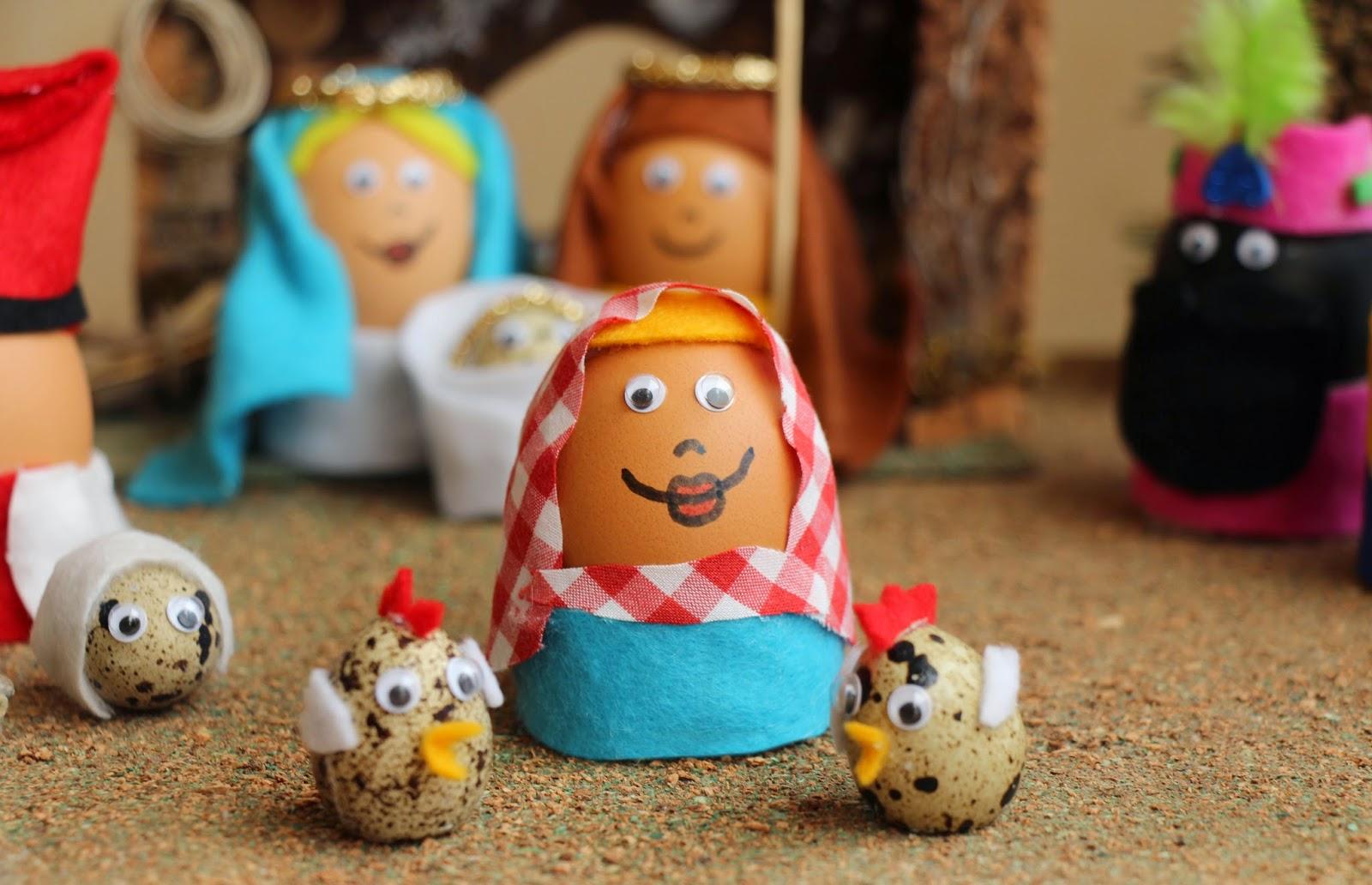 pastora con huevos