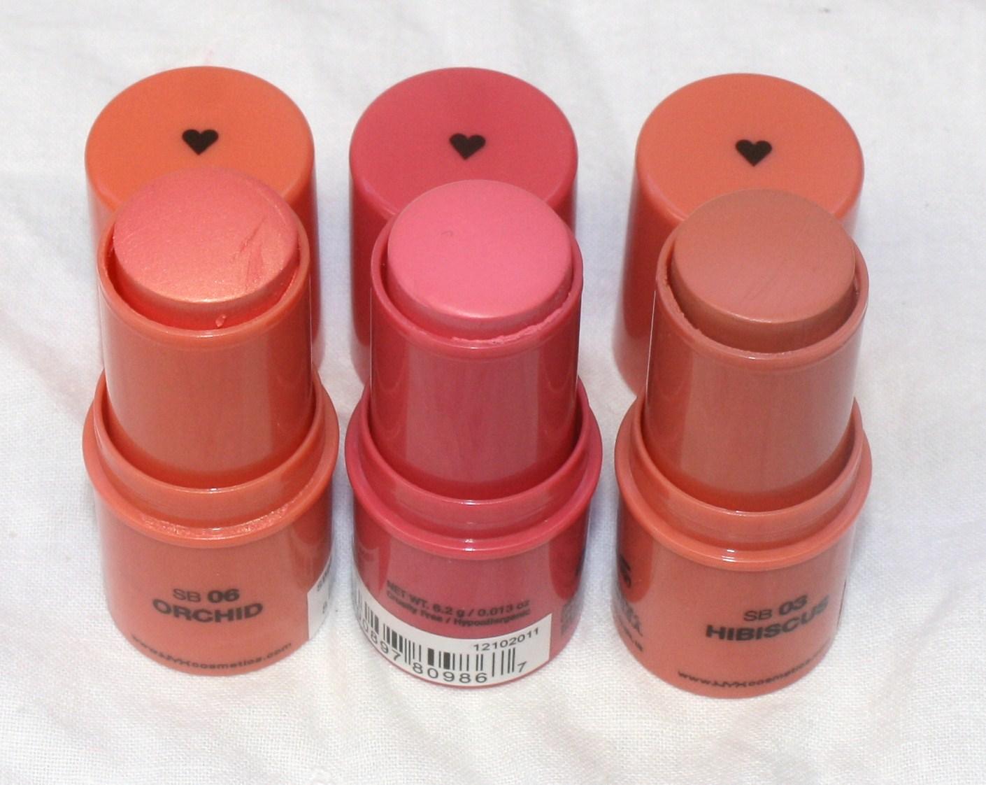 Miss Prissypants Nyx Stick Blush Farveprøver-4593