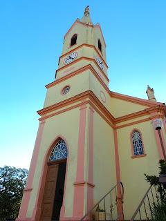 Fachada da Igreja Evangélica de Confissão Luterana de Nova Petrópolis