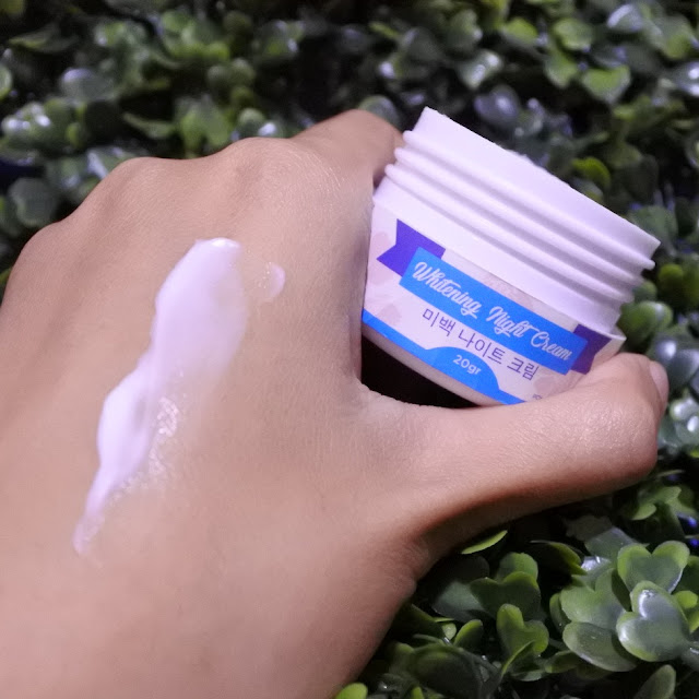 Review Damoe Whitening Series Kit - Night Cream