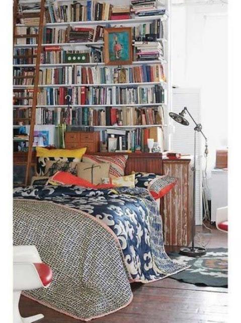 DECORACIÓN: Dormitorios con Libreros
