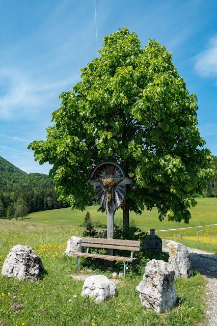 Gaisberg und Nockstein von Koppl  Wanderung FuschlseeRegion  Wandern Salzkammergut 15