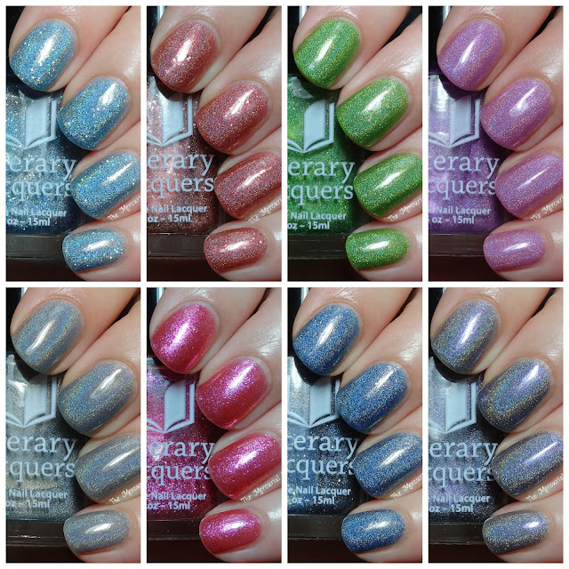 Literary Lacquers 2014 Community Collection & I Heard The Bells Swatches & Review