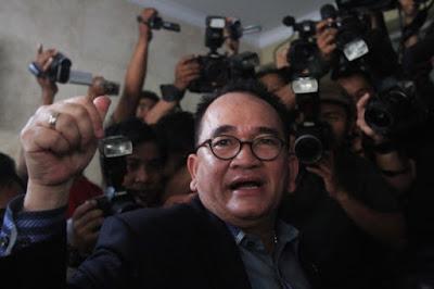Ruhut: Gaya Prabowo Persis Peneror 'Jakarta Terbakar'