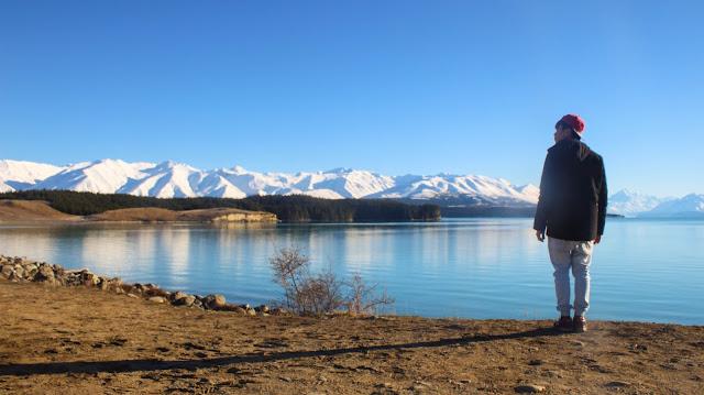 Ray Tan 陳學沿 (raytansy) ; Mt Cook Alpine Salmon @ Lake Pukaki, Canterbury, New Zealand 新西兰 坎特伯雷 普卡基湖 库克山三文鱼养殖场 生鱼片