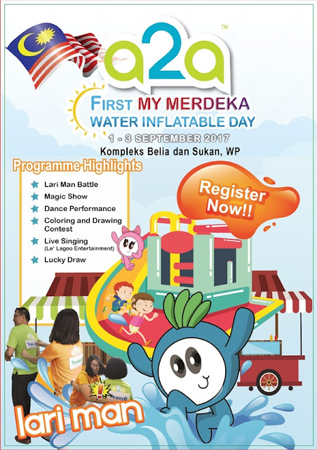 A2A FIRST MY MERDEKA WATER INFLATABLE DAY