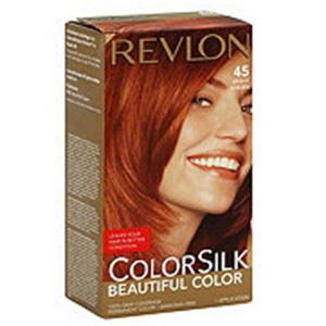 Thuốc nhuộm tóc Revlon Colorsilk màu Bright Auburn hàng chính hãng của Mỹ