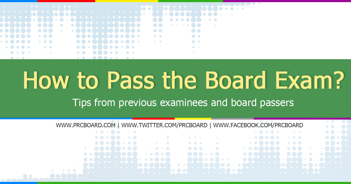 Secrets Revealed: How to Pass Board Licensure Exam? Tips