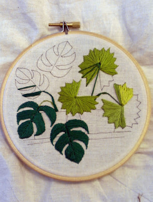 Sarah K Benning embroidery bordado