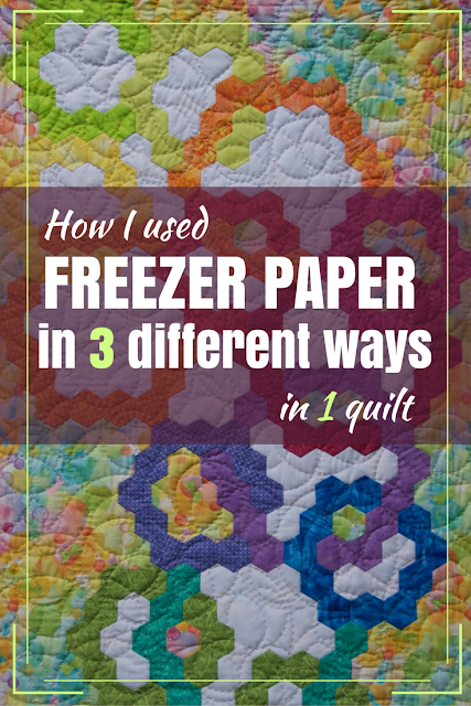 freezer paper for quilts