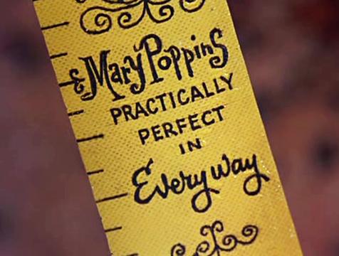La cinta métrica de Mary Poppins - Cine de Escritor