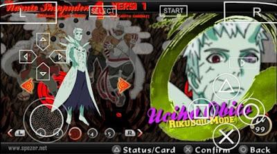 Game Naruto yang Menggunakan Mod Texture